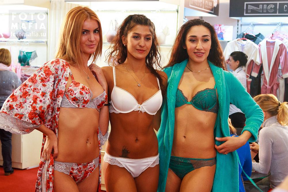 Девушки в нижнем белье Текстильлегпром 2013