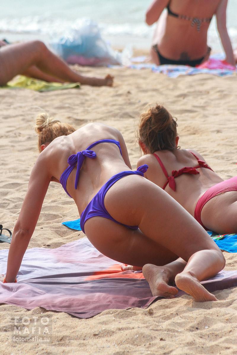Подгляд на пляжах