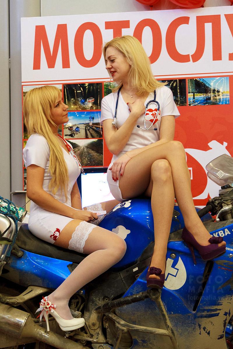 Сексуальные медсёстры Мотослужбы крови