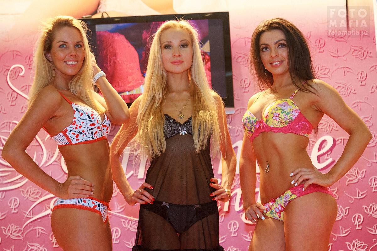 Девушки Lingerie-Expo 2014