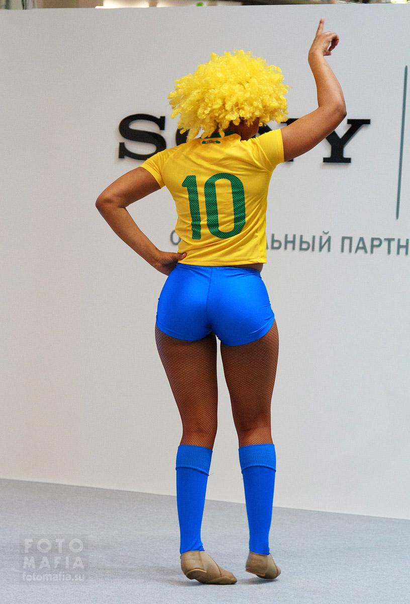 Бразильянка с большой попой
