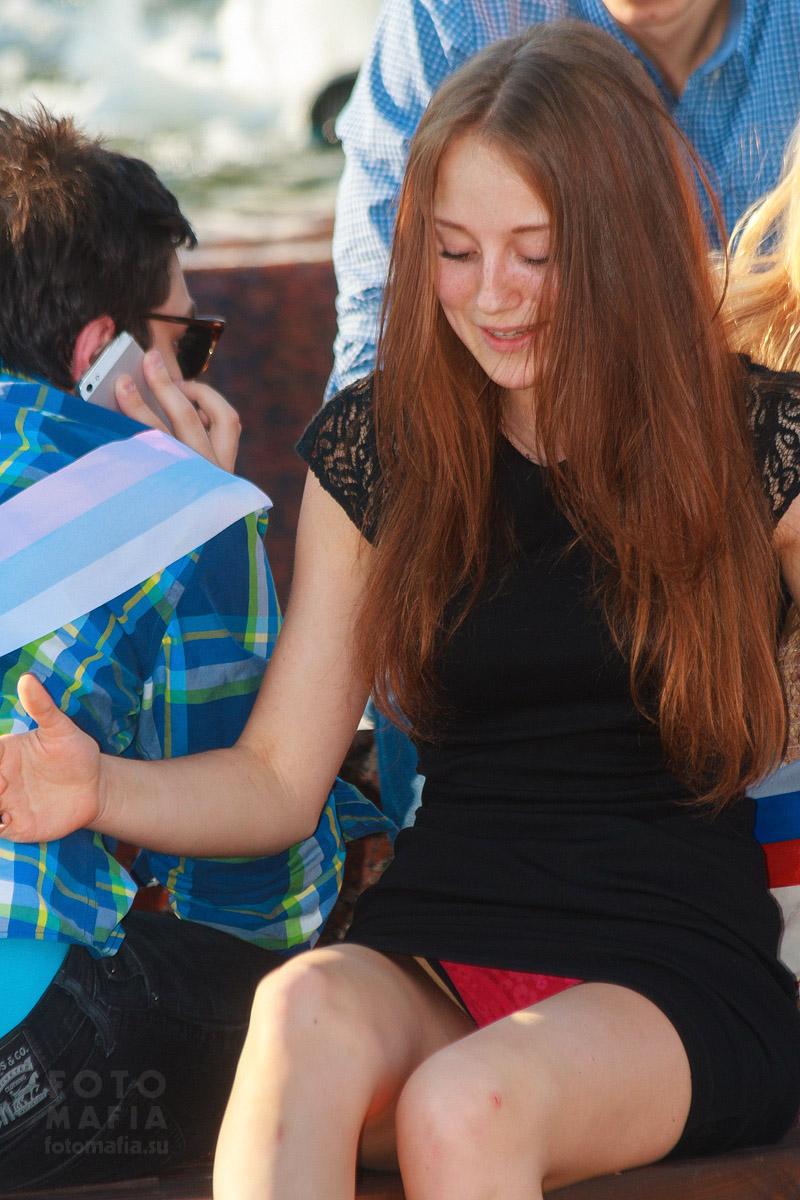 Девушки сверкают трусами фото 308-761