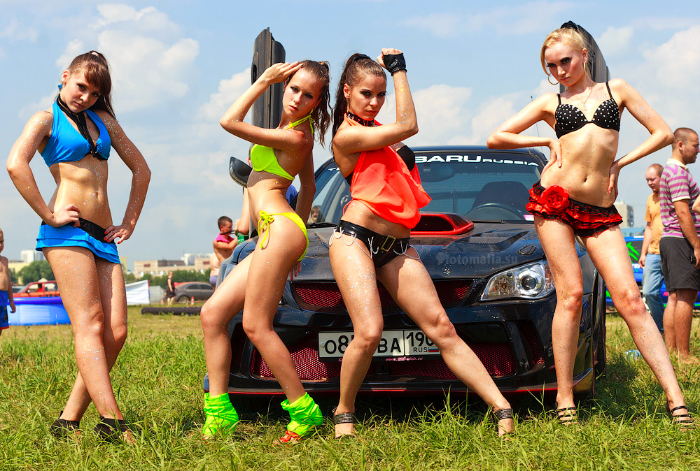Девушки Автоэкзотики 2011