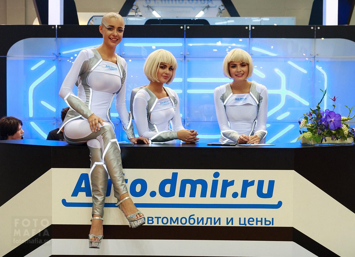 ММАС 2012 - девушки в прозрачных костюмах