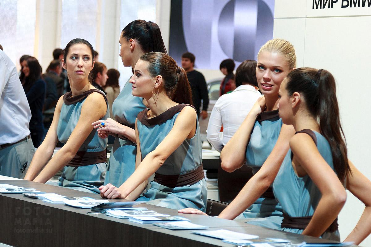 Девушки Московского Международного Автомобильного Салона 2012