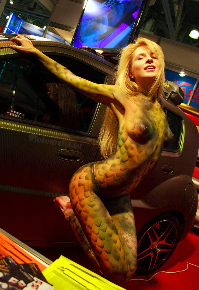 Полина Культ на выставке MIMS 2011