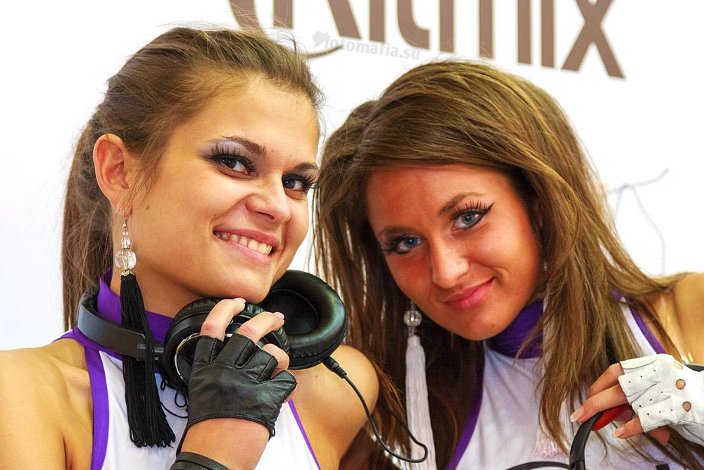 Девушки Ritmix на Фотофоруме 2012