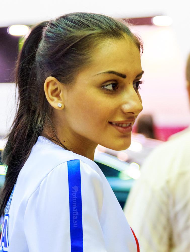 Интеравто 2012 - девушки AGA