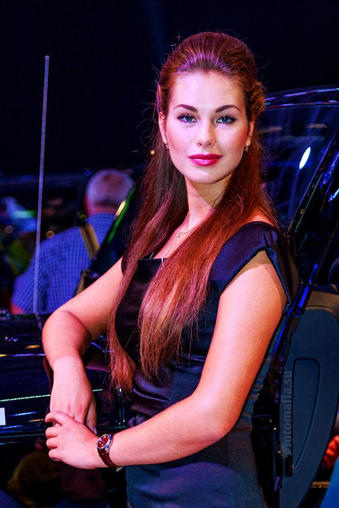 Девушка Московского Международного Автомобильного Салона