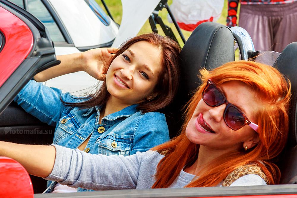 Go-go девушки Автоэкзотики 2012
