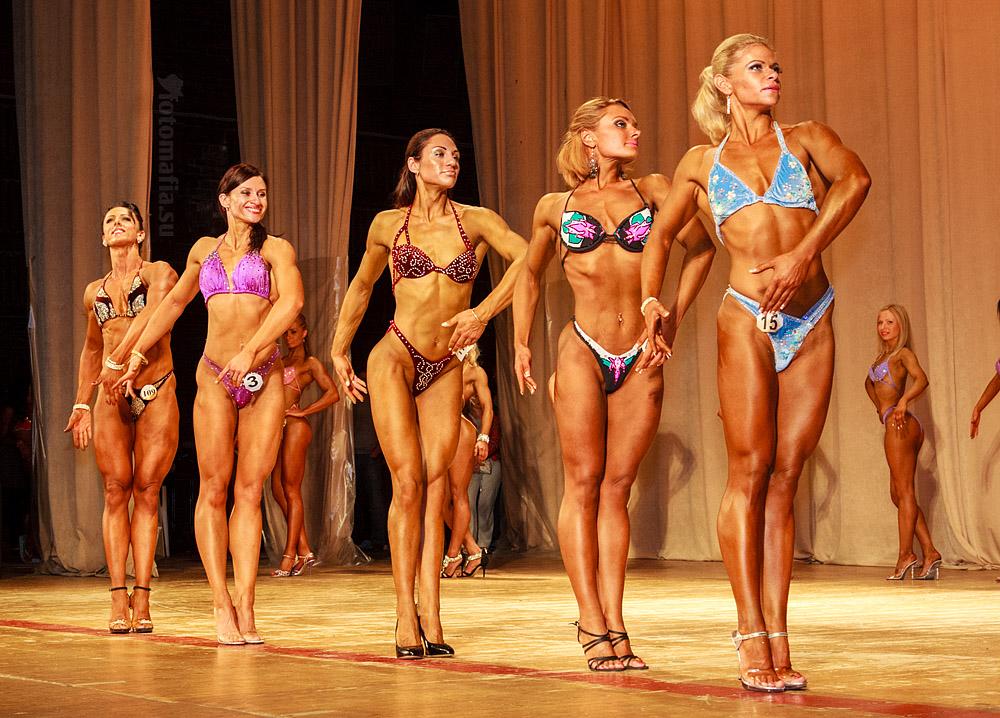 Фитнес девушки чемпионата московской области 2012