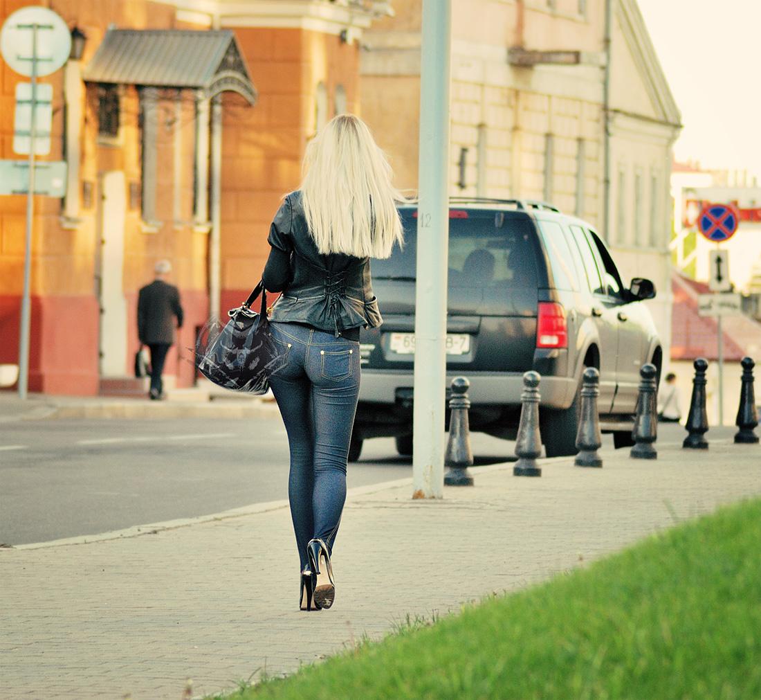 Русская в джинсах 7 фотография