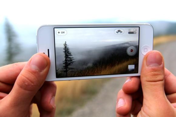 Съёмка на смартфон
