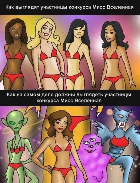 участницы Мисс Вселенная