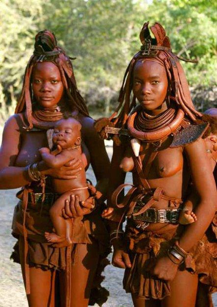 голые африканки