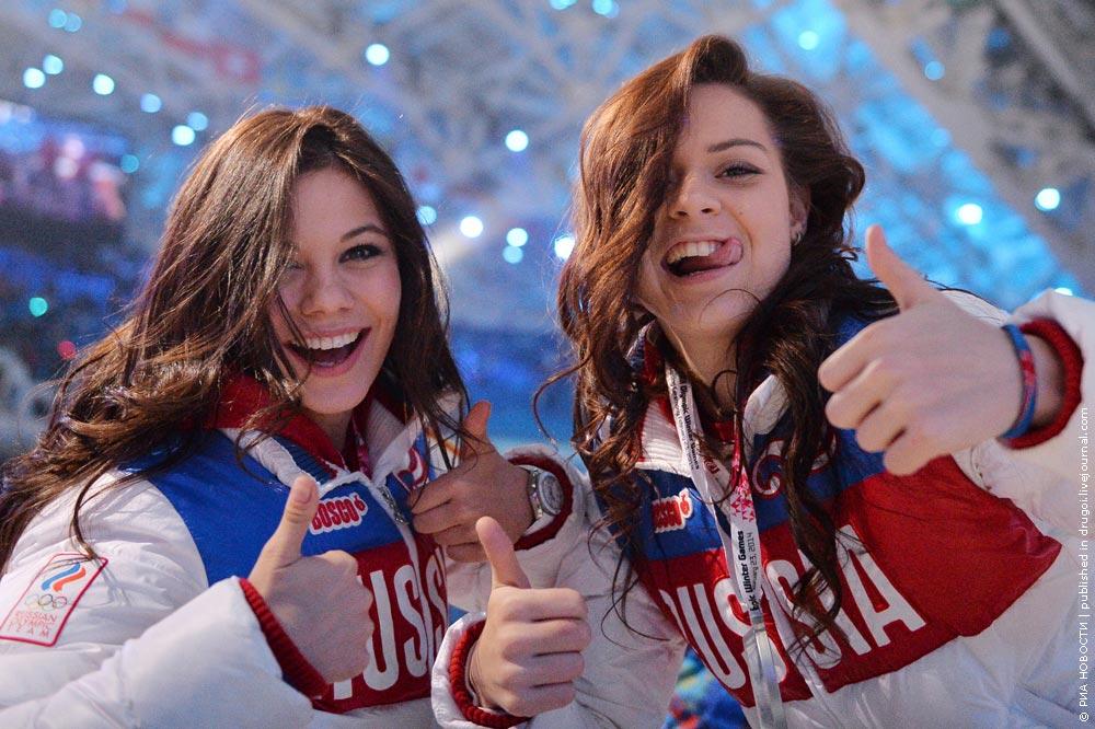 девушки олимпиады