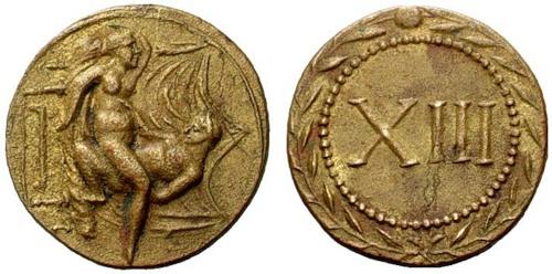 древняя монета секс