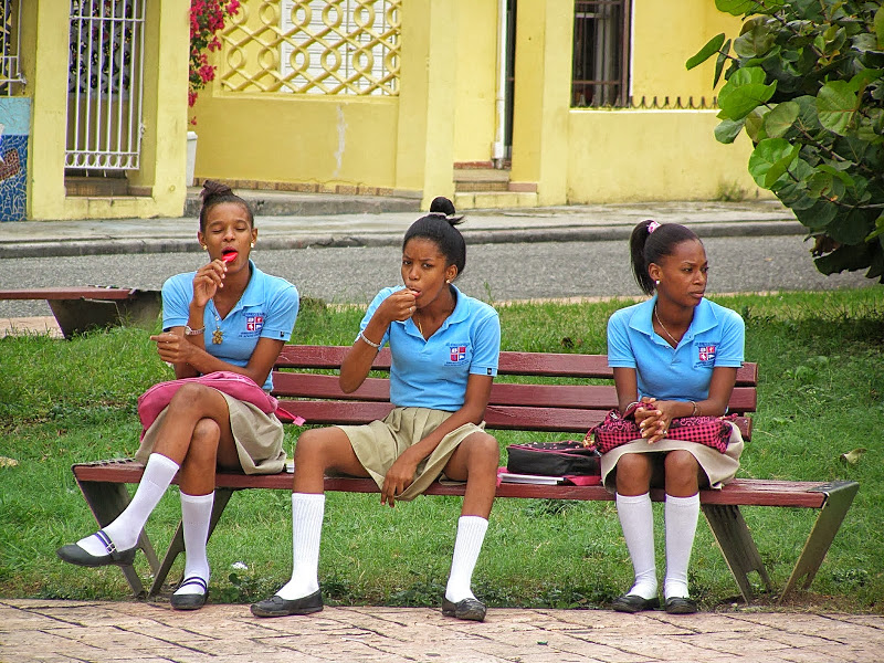 Латинские школьницы