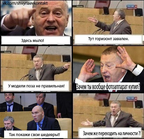 Жириновский критикует