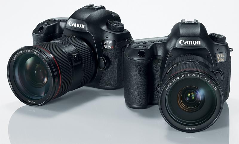Canon EOS 5DS и EOS 5DS R