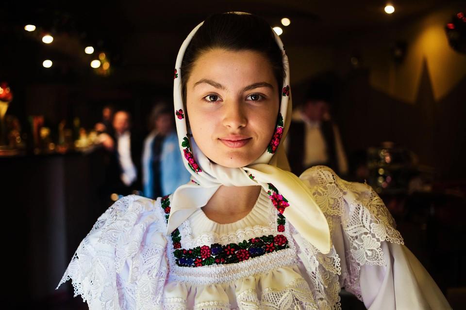 Девушка из Марамуреша (Румыния)
